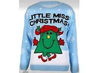 Little Miss Christmas Jumper