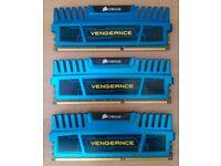 3x 4GB Corsair Vengeance CL3 1600Mhz DDR3 Ram