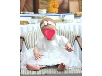 Baby christening dress and extras