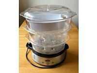 Biginet 3 Teir Stainless Steel Steamer with instructions