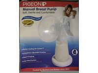 Pigeon breast pump comes with extra storage bottles