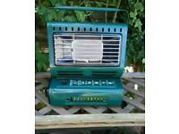 Gas heater fishing or camping