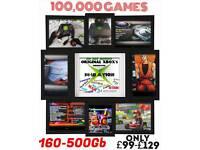 Refurbished & Reborn Original XBox, 250Gb HDD, All Games, Plug and Play - RETRO GAMING!