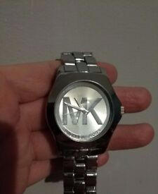 Hardly worn Michael Kors watch - Silver, woman's
