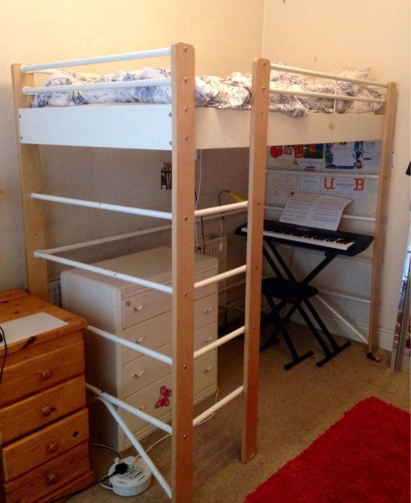 Ikea Lo 3 Position Single Bed Mid Sleeper High Bed In