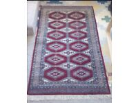 Traditional style rug 66inch X 37inch