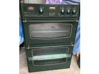 Electric double oven and grill
