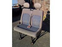 Front double seats van Renault Master II, Vauxhall Movano, Nissan Interstar (after 1998)