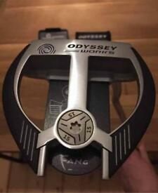 Odyssey fang two ball cruiser putter with weight kit