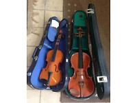 2 child's violins