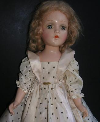 "VINTAGE MADAME ALEXANDER ?? 21"" FAIRY PRINCESS COMPOSITION DOLL WENDY ANN FACE"