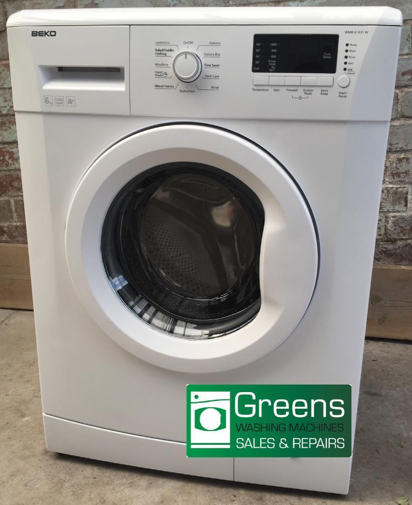 Fully reconditioned Beko washing machine with guarantee
