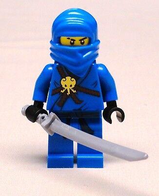 NEW Lego JAY NINJAGO Minifig w/ Sword BRAND NEW blue ninja 2263 2506 2259 2257](Blue Ninja)