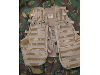 British Army Load Carrying Tactical Ops Vest - Modular / Molle Compatible