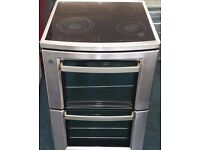 Aeg 60cm wide double oven and grill electric ceramic cooker