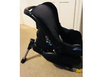 Car seat with easy base