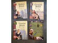 Used, History books KS2 & KS3 Modern Britain; Victorian Britain; Georgian Britain; the World at War for sale  Gloucestershire