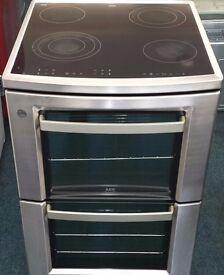 Aeg 60cm wide electric ceramic cooker