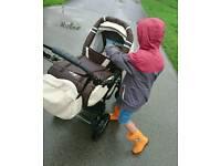 Stolen stolen pushchair Merc S7
