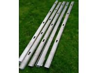 Galvanised metal U channel drywall studwork FREE to collector