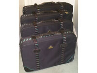 Set of 4 Suitcases in Very Good Condition