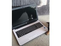 HP Laptop with charger and laptop bag