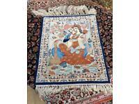 Handmade Persian Isfahan Rug
