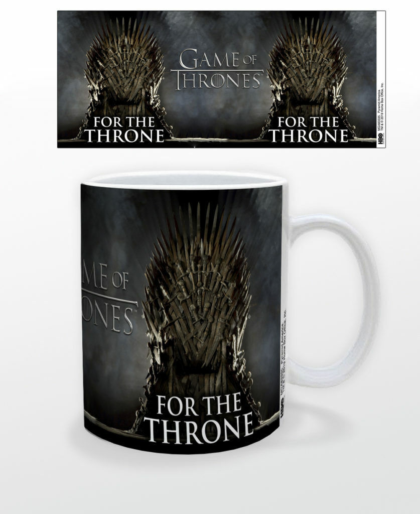 1b918b9b39d GAME OF THRONES FOR THE THRONE 11 OZ COFFEE MUG TEA CUP HBO