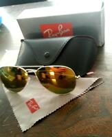 RAY BAN Flash lens Aviator