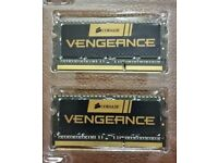 Corsair Vengeance 8GB (2 x 4GB) High Spec Gaming Laptop Memory Upgrade Kit