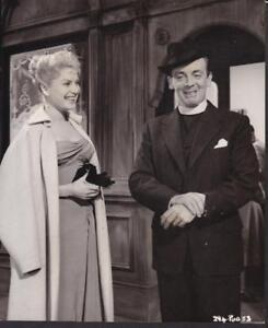 Belinda Lee Robert Helpmann in The Big Money 1956 vintage movie photo 35251