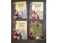 History books KS2 & KS3 Modern Britain; Victorian Britain; Georgian Britain, the world at war, used for sale  Gloucestershire