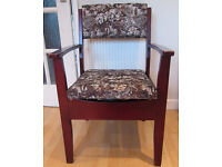 Wooden Armchair Commode