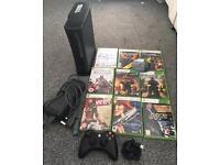 XBOX 360 ELITE with games
