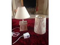 Nursery Lamp & Shade