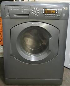Hotpoint washing machine 8kg with warranty can deliver