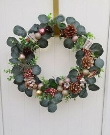 Beautiful Christmas wreaths made to order