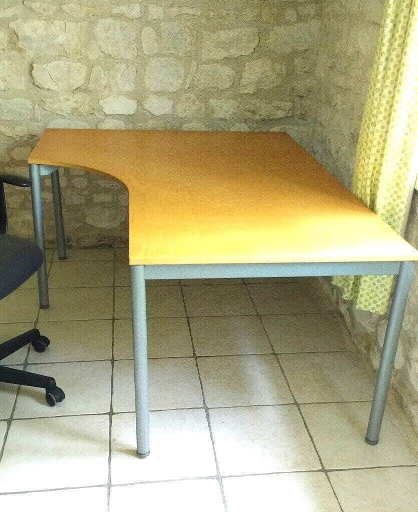 Ikea Large Linnmon Corner Table/Desk 120cm x 120cm