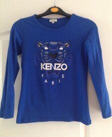 Designer Kenzo Top Age 10 years