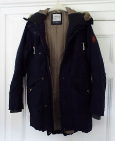 Dorkinsons Karen Ladies Parka Size 20 Navy Blue Unworn Immaculate