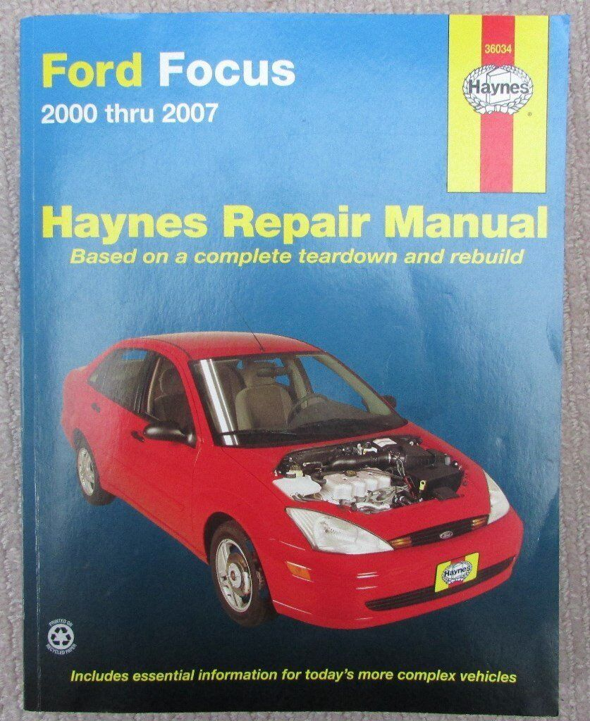 Ford Focus - Haynes Repair Manual: