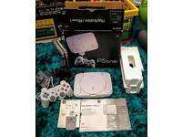 Boxed PsOne & Games