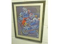 Yes another collector's gem of a framed original size 500mmx400mmTitled ~ Anticipation