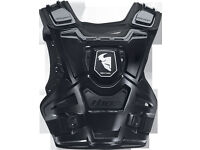 New 2015 Youth Kids Thor Sentinel Body Armour Motocross Quad BMX Downhill Black