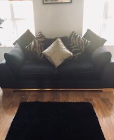 2 couches 2&3 seater immaculate condition