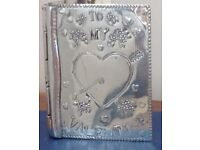 RARE PINDER BROS. PEWTER VALENTINE CARD -COLLECTABLE-GIFT