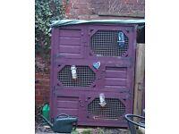 2sets of rabbit hutches