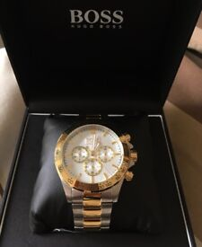Hugo Boss watch chronograph