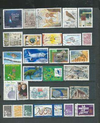 France lot 3 interesting selection of stamps good range  (764)