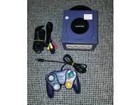 Nintendo Gamecube Console Indigo